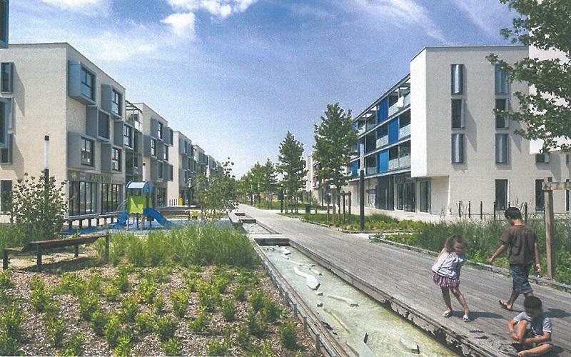 Projet du 6 ème quartier de la ville