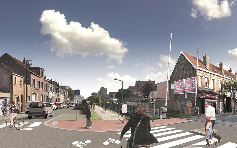 Projet d'aménagement de la rue Waldeck Rousseau