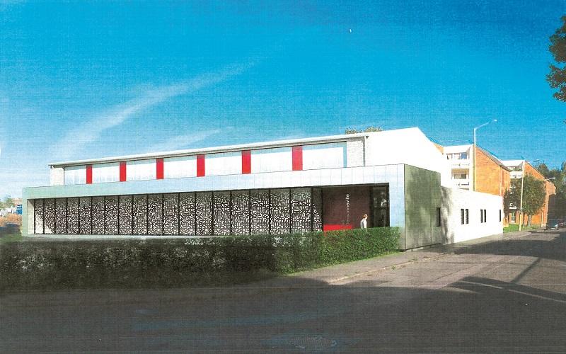 Projet du futur gymnase Dessonneville